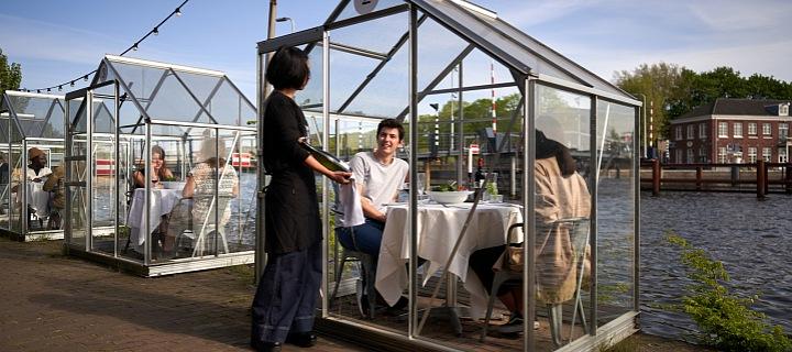 Mediamatic restaurace jako skleníky