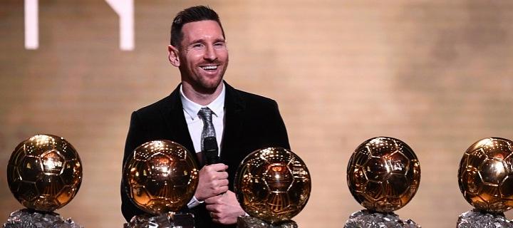 Messi se šesti Zlatými míči.