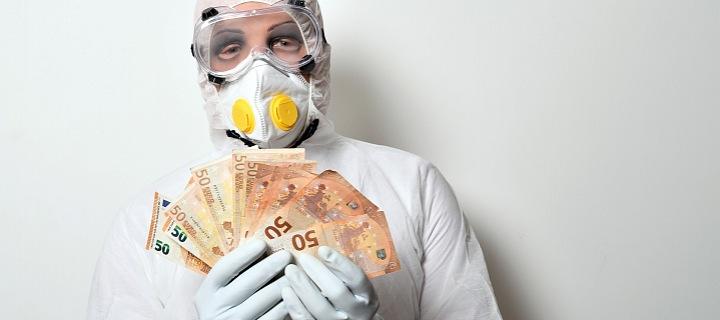 Koronavirus mučí svět financí