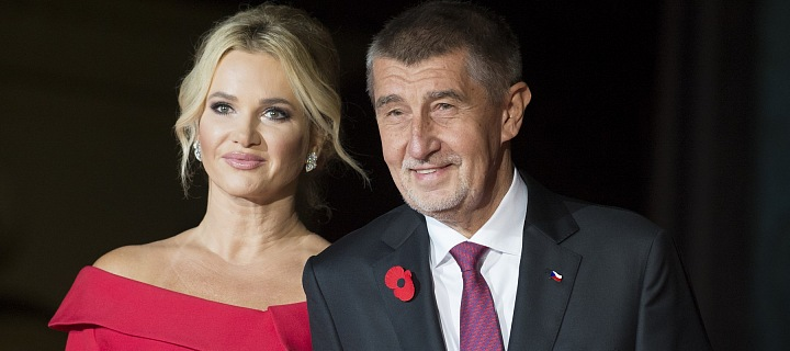 Monika Babišová a Andrej Babiš