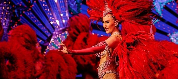 Tanečnice z Moulin Rouge
