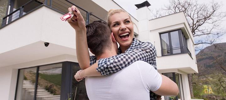 Šťastný pár si splnil sen v podobě nového bydlení