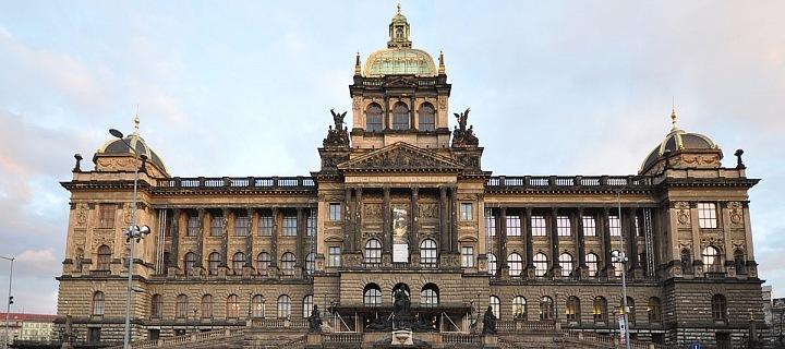Národní muzeum, dílo arch. Josefa Schulze