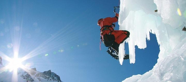 Lezení v ledopádech, Rakousko