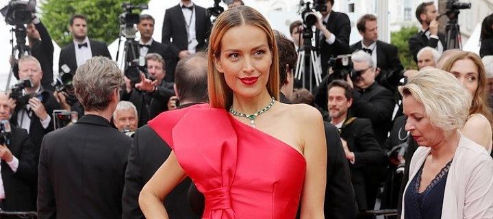 Petra Němcová na festivalu v Cannes