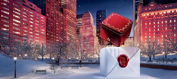 Vánoční kampaň Cartier