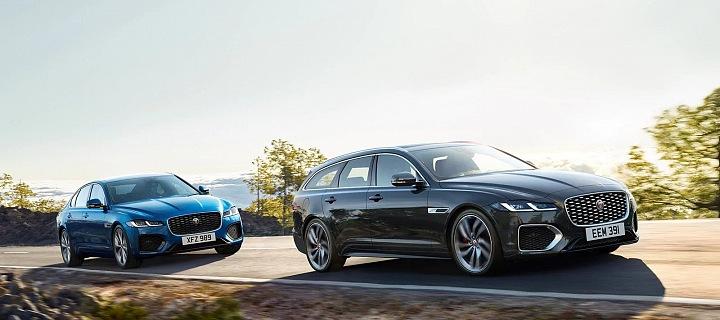 Nový model vozu Jaguar XF