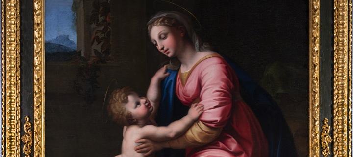 Madona s dítětem, obraz Raffaela z roku 1517.