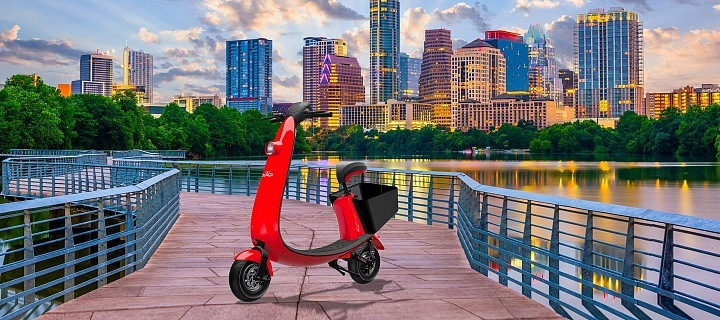 OjO electric scooter