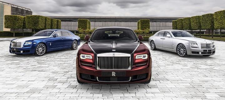 Ghost Zenith kolekce vozu Rolls Royce