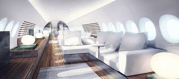 Koncpet SkyRetreat, Lufthansa
