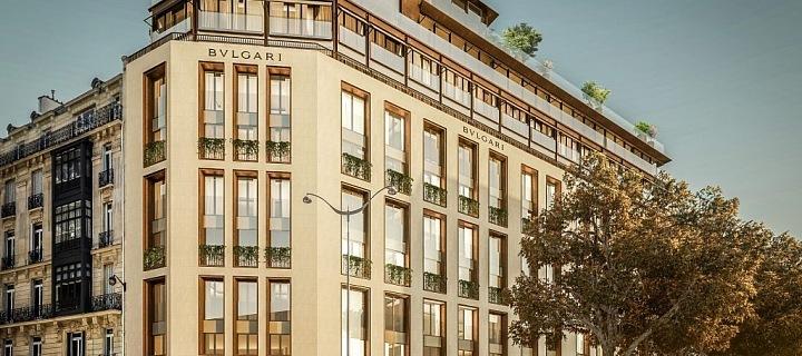 Luxusní hotel Bulgari, Paříž