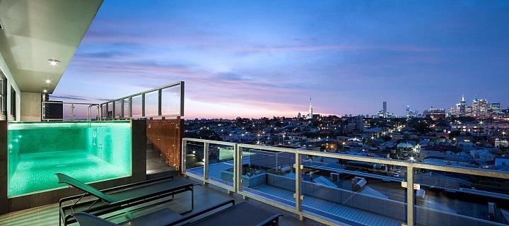 Jam architects/ Penthouse Austrálie