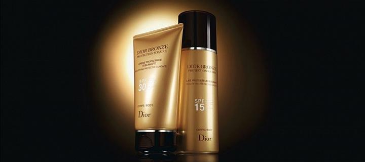 Dior Bronze - oil and milk for beautiful tan