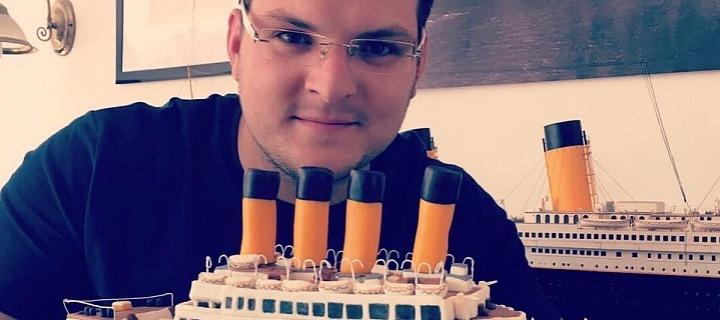 Ondřej Vrkoč Titanic obdivuje od svých čtyř let.