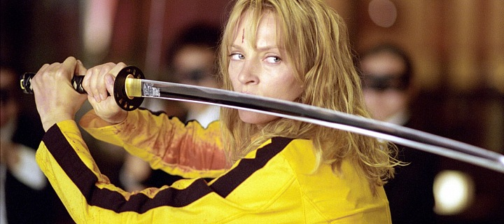 Uma Thurman, mistryně boje v Tarantinově kultovním filmu Kill Bill