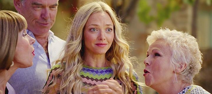 Mamma Mia! Here We Go Again (2018), Christine Baranski, Julie Walters and Amanda Seyfried