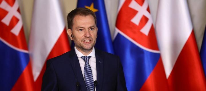 Igor Matovič při návštěvě Polska