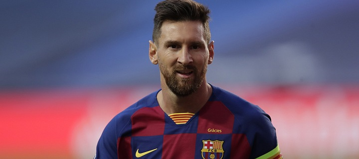 Lionel Messi čeká na vyhlášení oficiálního stanoviska FC Barcelony