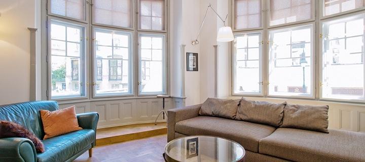 Obývací pokoj s výhledem