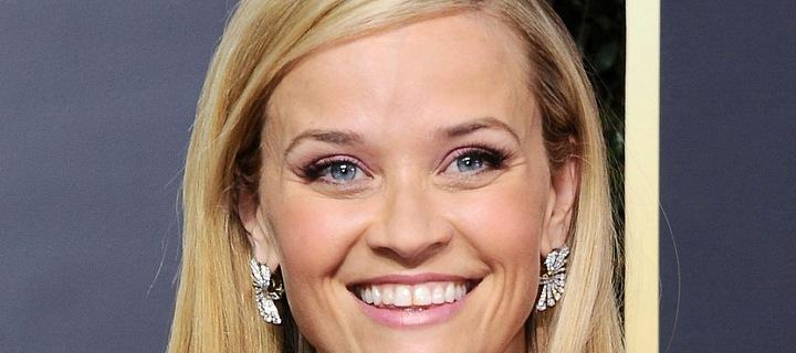 Herečka Reese Witherspoon na Zlatých Glóbech