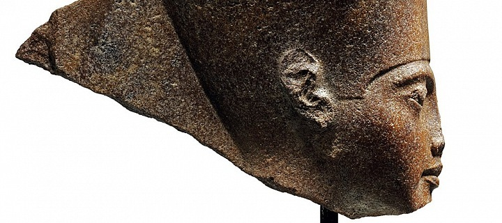 Busta faraona Tutanchamona