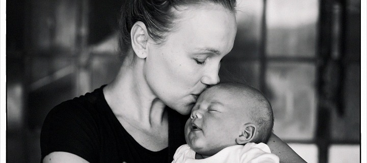 With her third son Matyáš