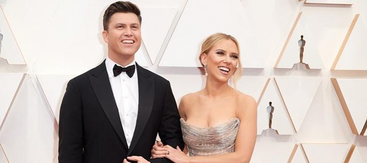 Scarlett Johansson s manželem.