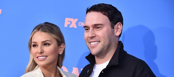 Manželský pár Scooter Braun a Yael Cohen
