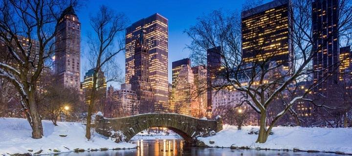 Vánoční čas v Central Parku