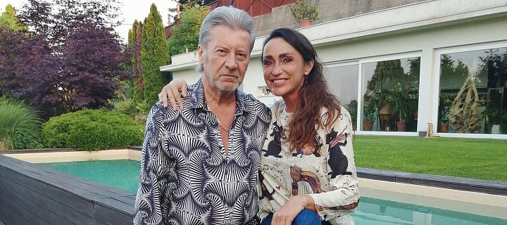 Sisa Lelkes Sklovská s manželem Jurajem Lelkesem