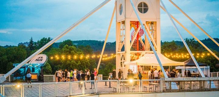 Sun Festival na střeše Křižíkových pavilonů
