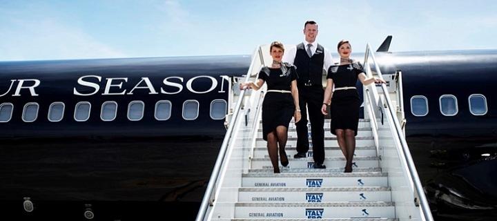 Four Seasons soukromé letadlo