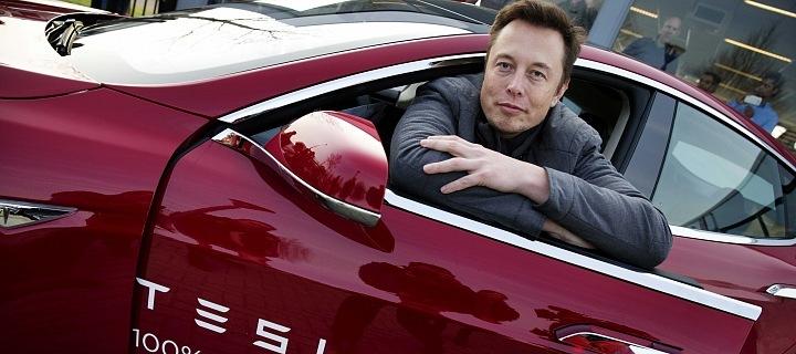 Elon Musk a Tesla
