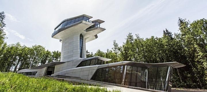 Nádherný dům postavený architektkou Zahou Hadid