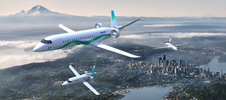 hybridní letadlo, Zunum Aero