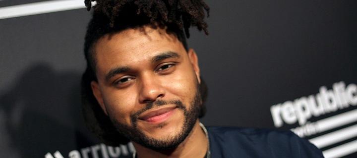 zpěvák Weeknd