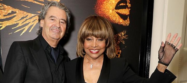 Tina Turner s manželem
