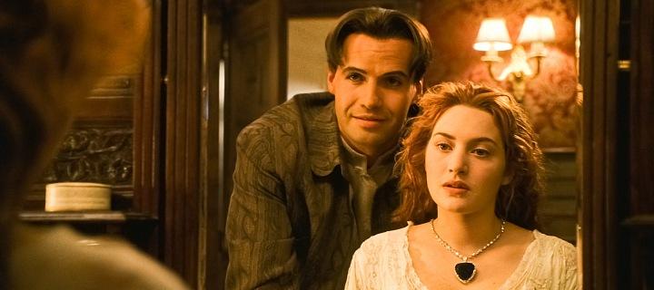 Titanic, Kate Winslet a Billy Zane