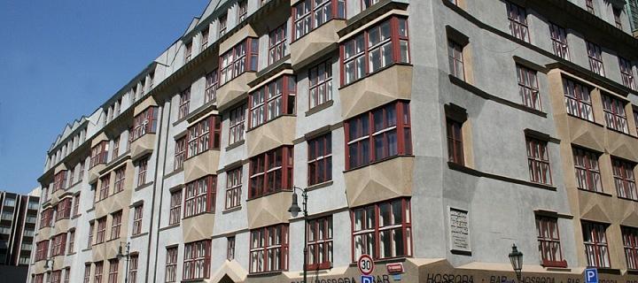 Učitelské domy, Praha, 1919–1921