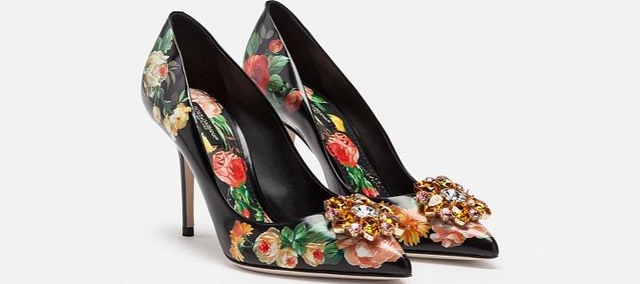 Dolce&Gabbana SS19 - model Bellucci