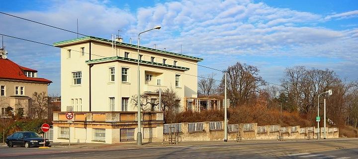 Vlastní vila architekta Hypšmana