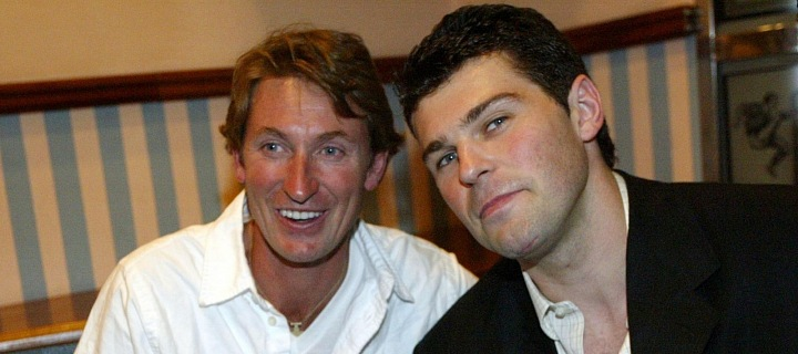 Wayne Gretzky s Jaromírem Jágrem