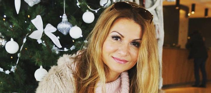 Herečka a zpěvačka Yvetta Blanarovičová.