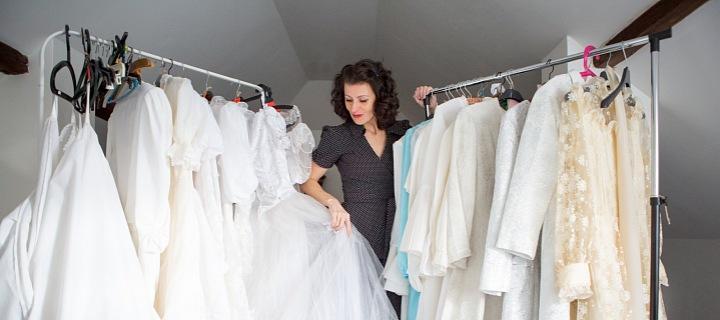 Sběratelka svatebních šatů