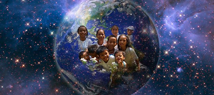 Zeměkoule ve vesmíru