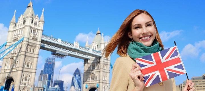 Žena v Londýně