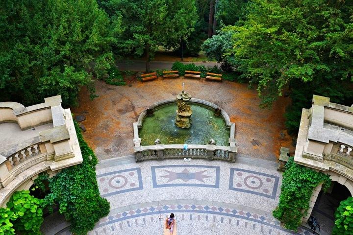 Havlíčkovy sady, Grébovka - fontána