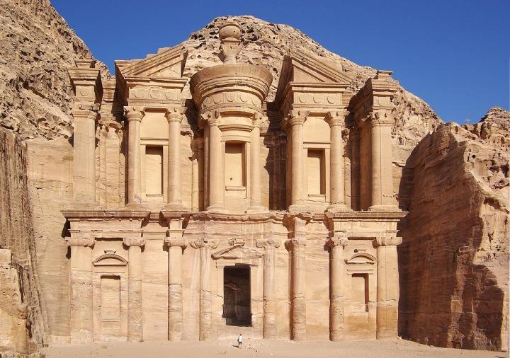 Chrám Petra v Jordánsku