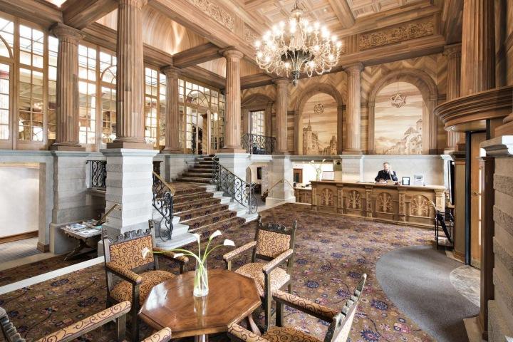 Kulm hotel v St. Moritz